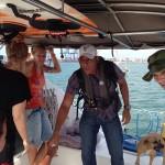 Our guide for the canal. #sailingaroundtheworld #panamacanal #baydreamer #panama