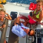 On our way to Bora Bora sailing sailingbaydreamer sailingaroundtheworld catamaranhellip