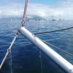 Now the new bowsprit is mounted newsails northsails bowsprit sailshellip