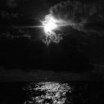 Sailing in the moonlight. #sailingaroundtheworld #baydreamer #moonlight #catamaran