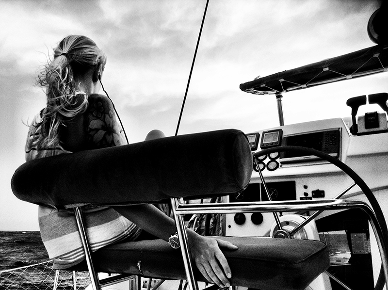 Anna Sailing Bay Dreamer