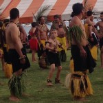 Getting ready to preform! marquesas dancingkid traditionaldance frenchpolynesia