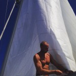 Finaly our new main sail is in place! sail mainsailhellip